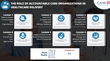 Accountable Care Organizations and Future Healthcare Delivery